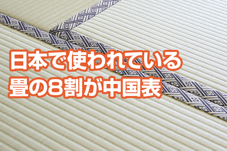 畳替えの前に知っておきたい畳の種類