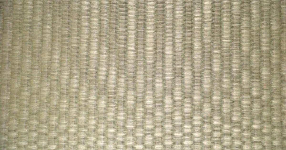 プラスチック畳(ビニール製)特徴