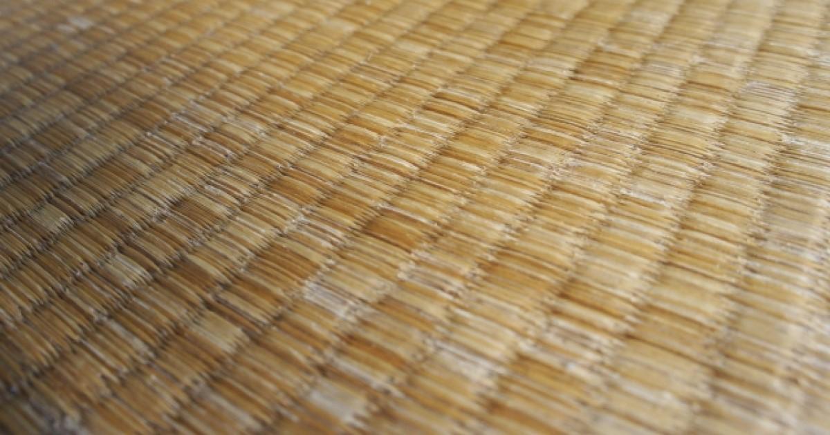 畳をきれいにする方法を解説