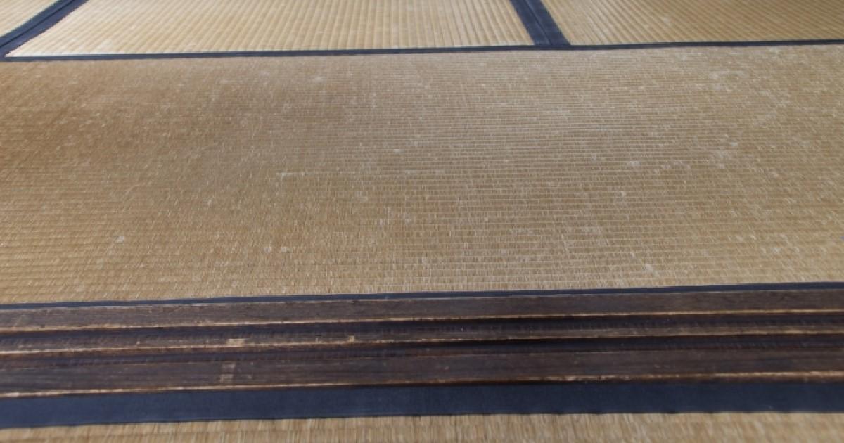 畳のシミ取り・汚れ落としの方法
